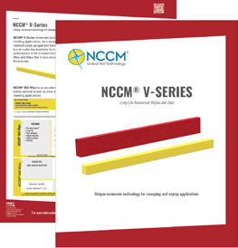 Cover and first page of the NCCM® V-Series data sheet