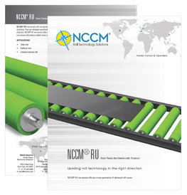 Cover and first page of the NCCM® RU data sheet