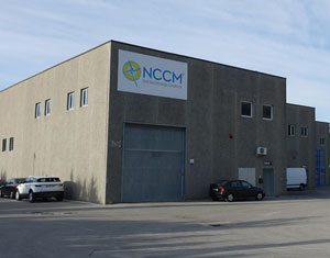 Outside view of NCCM Europe plant, service center and sales office in Spain