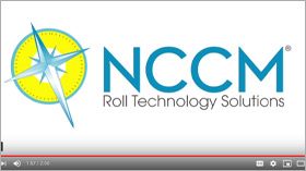 The NCCM logo on a white background